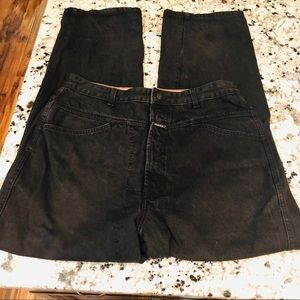 Girbaud 90's Vintage black denim jeans 36m